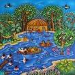 Marché en Amazonie